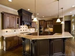 kitchen colors with brown cabinets modern home design