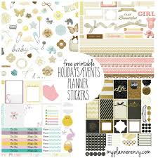 Halloween Stickers Printable by 100 Free Planner Printables U Create