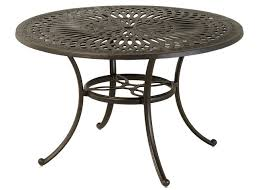 Round Patio Furniture by Mayfair By Hanamint Luxury Cast Aluminum Patio Furniture 48