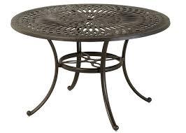 mayfair by hanamint luxury cast aluminum patio furniture 48