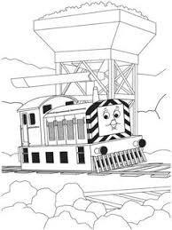 printable free cartoon thomas train friends coloring pages