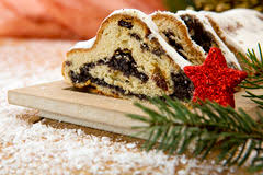 Traditional German Christmas Decorations Traditional German Christmas Cake Stollen With Marzipan Nuts And