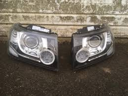 freelander 2 xenon led headlights with signature strip in