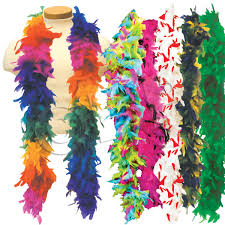 mardi gras boas get in the mardi gras spirit with these boas available in several