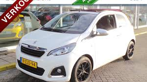 toyota uxs peugeot 108 top 1 0 12v allure e vti 3dr open dak youtube