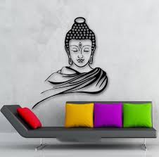 online get cheap home decor wall sticker religion buddhism buddha