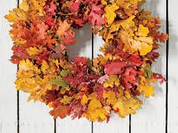 autumn wreath make a fall wreath with colorful foliage southern living