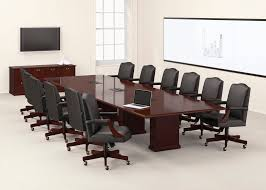 National Conference Table National Office Furniture Barrington Conference Table And Credenza