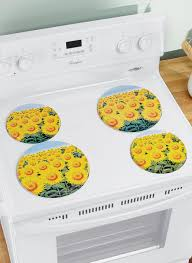 sunflower stove burner covers carolwrightgifts com