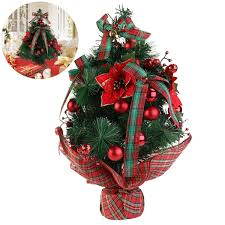 Mini Decorated Christmas Trees Christmas Trees Amazon Com