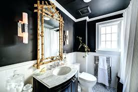 black and white bathroom decorating ideas black and gold bathroom designs decorating ideas design black white