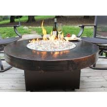 Firepit Gas Oriflamme Gas Pit Tables Copper Table All Backyard