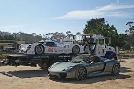 porsche hybrid 918 porsche 918 spyder and 919 hybrid 12 19 15 sssupersports
