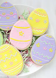 sugar easter egg easter egg sugar cookies with royal icing