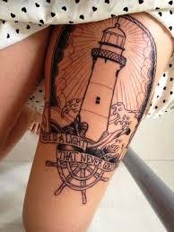 Lighthouse Tattoo Ideas 20 Stunning Lighthouse Tattoo Ideas Inspired Luv