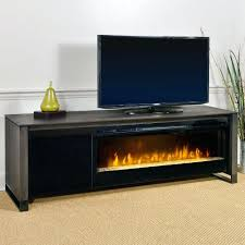 electric fireplace tv stand sams club cabinet espresso infrared