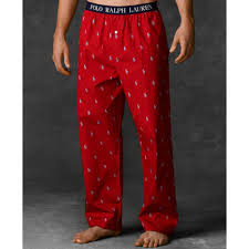 ralph polo mens polo player pajama in for lyst
