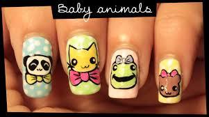 baby animals nail art youtube