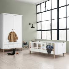Oliver Furniture Wood Oliver Furniture Babybett Mini Wood Collection Eiche 68x122 Cm