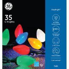 ge led christmas lights ge 70 staybright muti color led c9 lights reel christmas holiday c 9