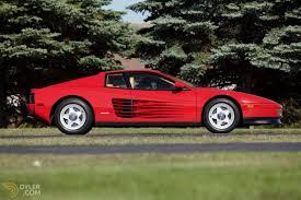 ferrari testarossa classic 1987 ferrari testarossa coupe for sale 2714 dyler