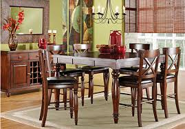 calistoga raisin 5 pc counter height dining room dining room