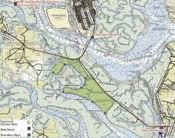 Jekyll Island Map Pick Your Own Oysters Recreational Harvest Of Shellfish Is