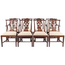 Duncan Phyfe Dining Room Set 11pc Mahogany Dining Room Set Chippendale China Buffet Ebay Image