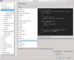 eclipse theme switcher eclipse color theme eclipse plugins bundles and products