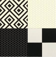 cushion floor vinyl black white design sheet lino kitchen bathroom