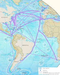 Azores Map Atlantic Ocean Major Ports Map