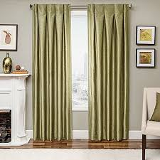 Bed Bath And Beyond Drapes Designers U0027 Select Maximus Inverted Pleat Window Curtain Panels
