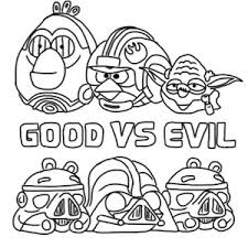 angry bird star wars characters coloring pages bulk color
