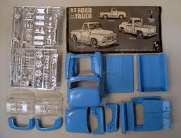 1953 ford truck parts amt car truck vintage out of production plastic model kits for