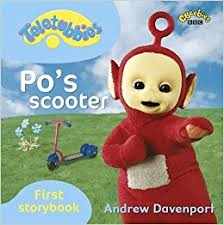 teletubbies po u0027s scooter amazon uk bbc books 9781405906784