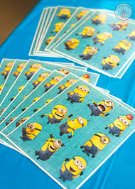 Minion Birthday Decorations Minion Birthday Party With Free Printables