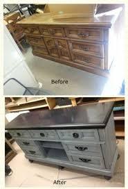 Dresser Diy 30 Creative And Easy Diy Furniture Hacks Tv Stand Makeover