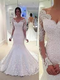 mermaid wedding lace mermaid trumpet wedding dresses cheap online tidebuy