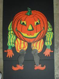 vintage beistle halloween jack o lantern die cut decoration
