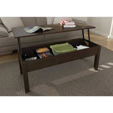How To Make An Expandable Table Amazon Com Mainstays Lift Top Coffee Table Color Espresso