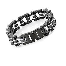 chain bracelet men images Leadcin bike bracelet heavy stainless steel men 39 s bycicle bike jpg