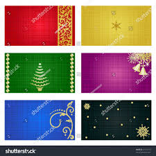 Business Cards Mini Business Cards Mini Greeting Cards Gift Stock Vector 21174712