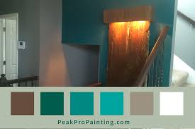 how to paint an interior accent wall with peak pro painting