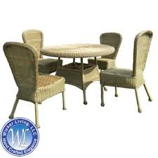 Wicker Patio Dining Chairs Wicker Outdoor Dining Set Darby 6 Piece Table U0026 Chairs