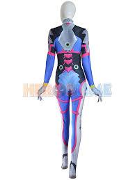 Video Game Halloween Costumes Va Costume Video Game Overwatch Cosplay Costume