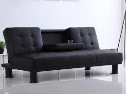 dossier canapé canapé clic clac en simili daniel noir ou blanc