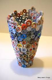 Vase Made From Plastic Bottle Jessicaplowright March 2013