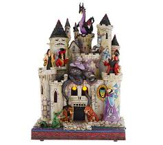 jim shore disney traditions haunted castle with villans page 1