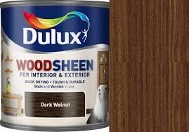 dulux woodsheen quick dry stain u0026 varnish all in one paint