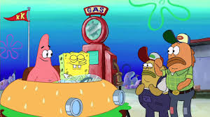 the spongebob squarepants movie gas station youtube